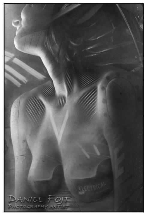 Daniel Fojt - Future Amazons series - Metamorphosis