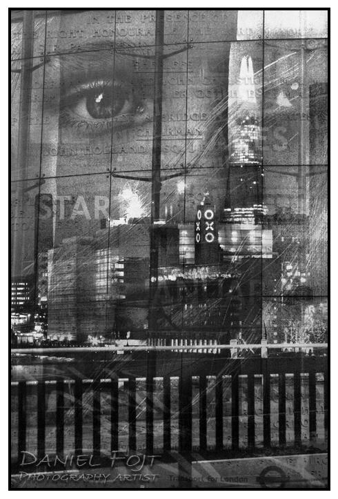 Daniel Fojt - London Montage series - City of Night