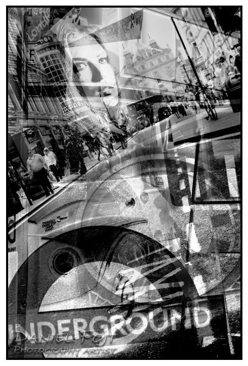 Daniel Fojt - London Montage series - Cosmopolitan