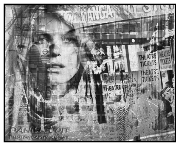 Daniel Fojt - London Montage series - Daydream