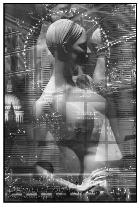 Daniel Fojt - London Montage series - Doris