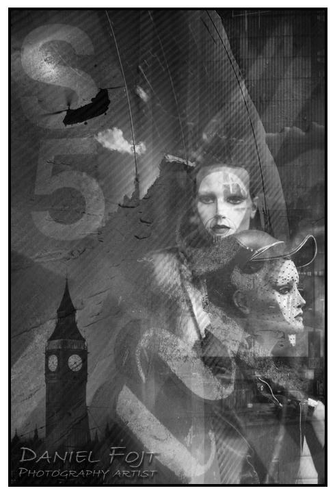 Daniel Fojt - London Montage series - Dreamer