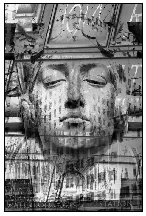 Daniel Fojt - London Montage series - Icon