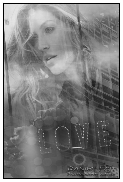 Daniel Fojt - London Montage series - Love