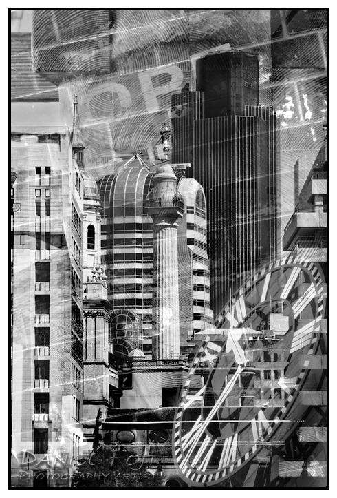Daniel Fojt - London Montage series - Metropolis