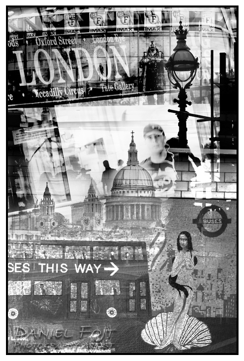 Daniel Fojt - London Montage series - Mosaic