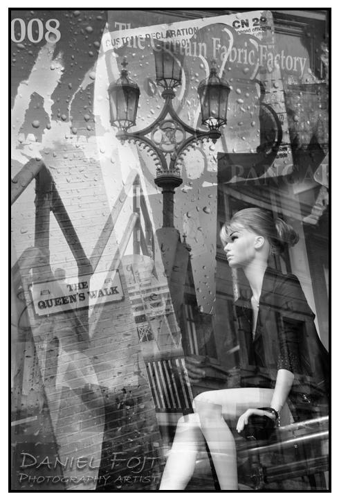 Daniel Fojt - London Montage series - Waithing