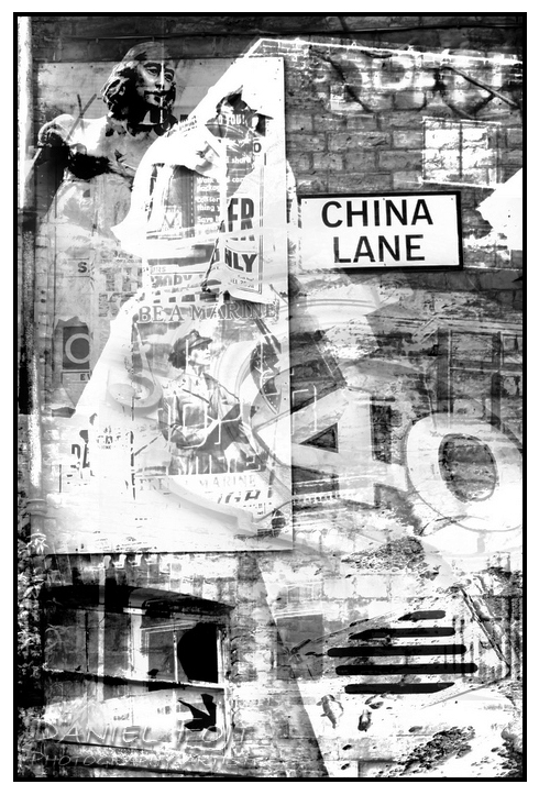 Daniel Fojt - Manchester Montage series - China Lane