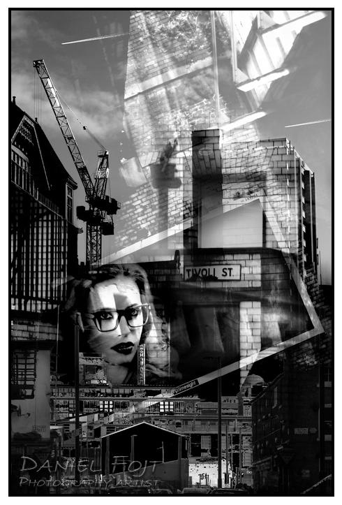 Daniel Fojt - Manchester Montage series - Dark City